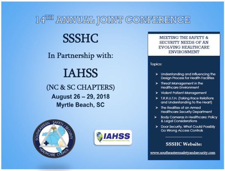 Southeastern Safety and Security Healthcare Council's Annual Joint Conference